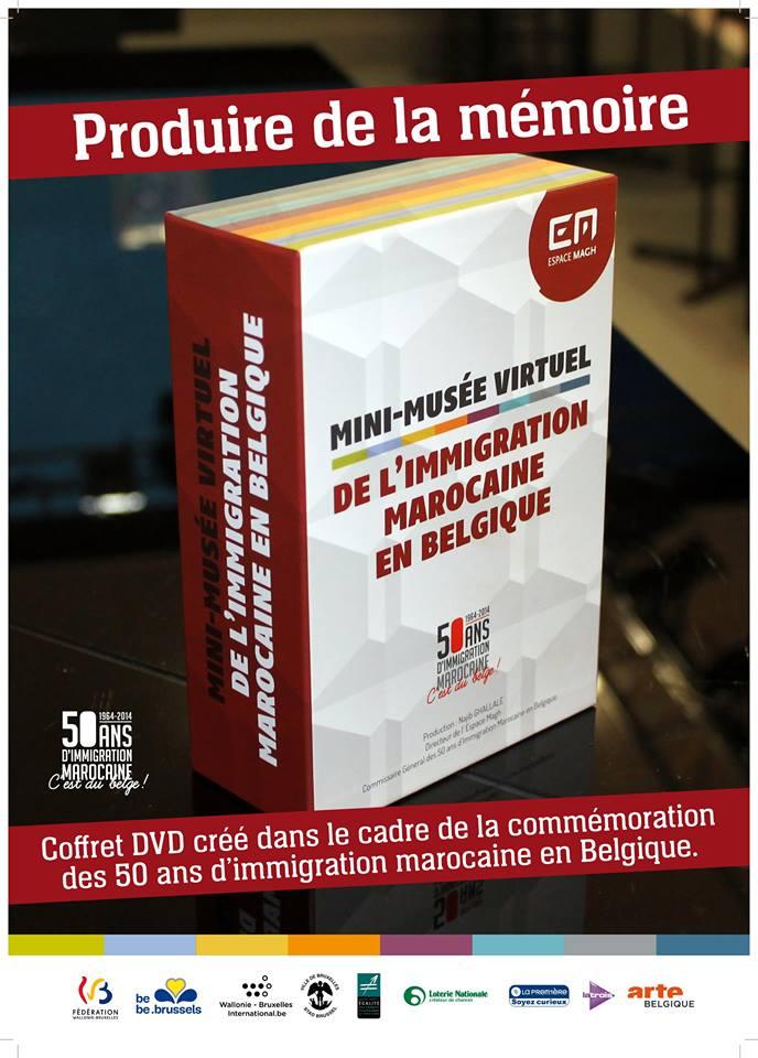 le coffret DVD sur les images de l'immigration marocaine.